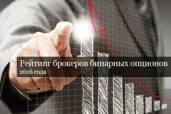 Рейтинг брокеров бинарных опционов 2016