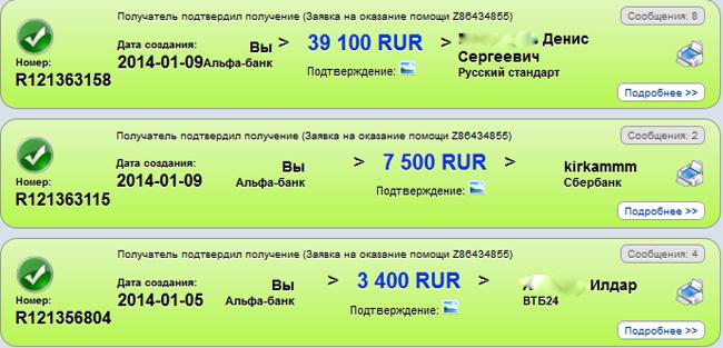 Мой вклад в МММ на 50000 рублей