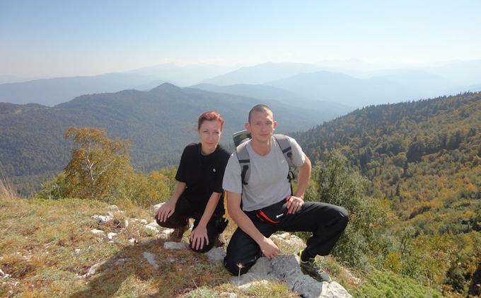 Пеший тур по горам Адыгеи 2012 год