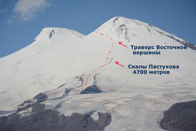 Маршрут восхождение на Эльбрус с Юга