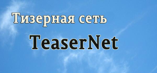 Рекламная сеть TeaserNet: полный разбор