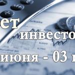 Отчет об инвестировании за неделю 27 июня — 03 июля