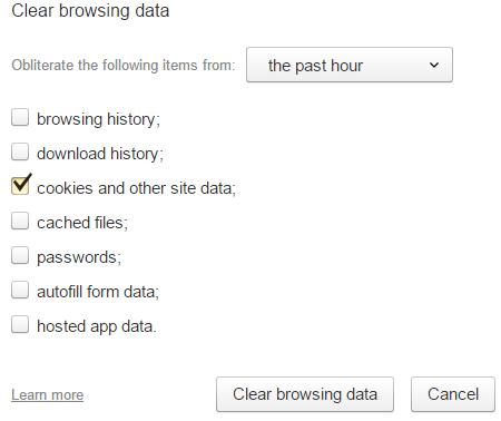 Как очистить куки (cookies) в браузере?