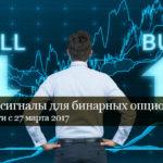 Честные сигналы для бинарных опционов — стартуем 27 марта!
